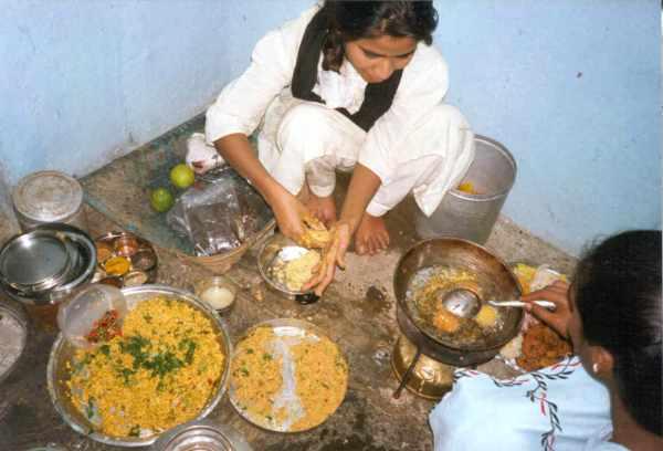 indien-matlagning