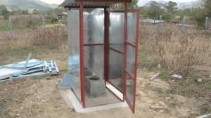 ny toalett till skolan Ruben Dario