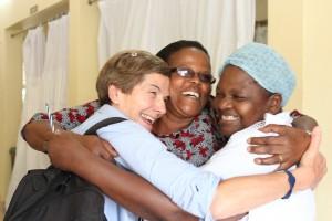 Gott samarbete mellan JIDCA och Mawenzi hospital.